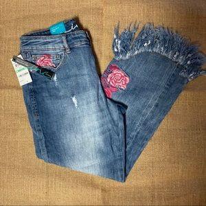 Inc Denim Ankle Jeans size 8p NWT